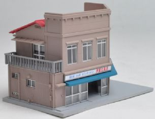 Kato 23-477 Billboard Structure Corner Shop 1